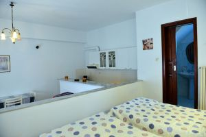 studios Skiathos beach family rooms kitchen